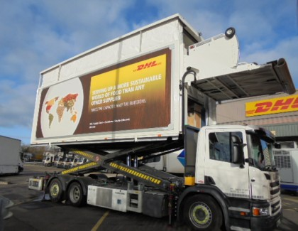 Thermo King cools the innovative DHL 'Double Decker High-Loader' airline catering concept truck