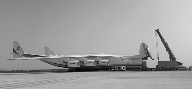 World's largest cargo plane gets a helping hand from Freightworks