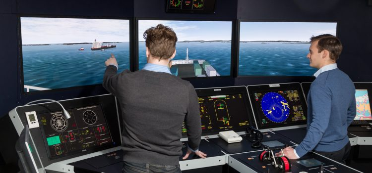 Multimodal logistics centre unveils new sea simulation courses