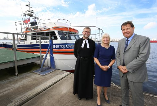PD Ports christen new vessel High Tide Adventure