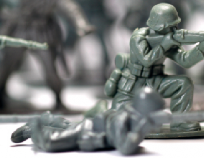 Conquer the supply chain with a small  well equipped army