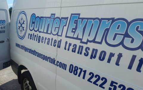 Courier Express successfully named Refrigerated Courier of the Year at TCSD awards