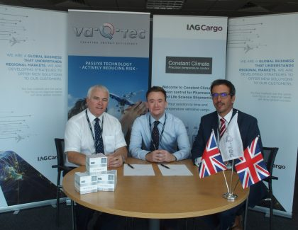 IAG Cargo signs global rental agreement with Va-Q-tec