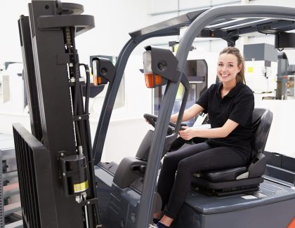 Women and young people set to rejuvenate the logistics industry after this year's International Forklift Operator of the Year