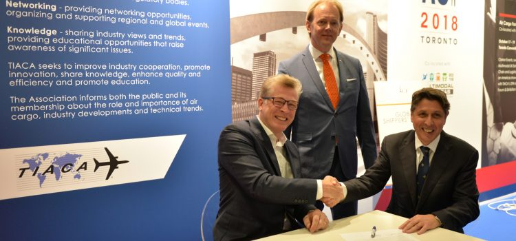 Global Shippers' Forum and Cargo iQ announce their Memorandum of Understanding