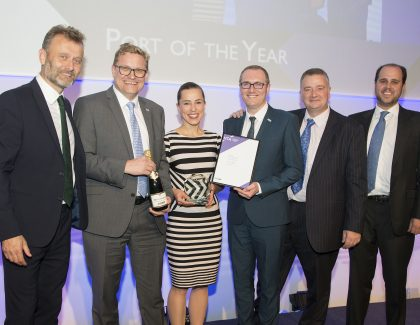 Port of Dover named 'Port of the Year' at UK National Transport Awards