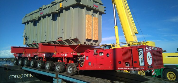 Largest transformer in Ireland delivered by ALE