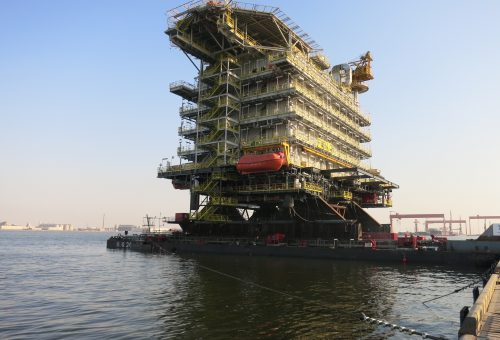 International offshore installation completed by ALE in China and Qatar