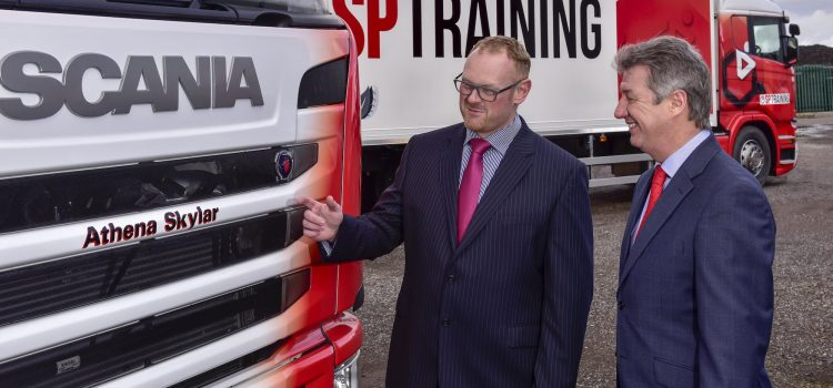 Yodel names bespoke vehicle Athena as part of SP Training fleet