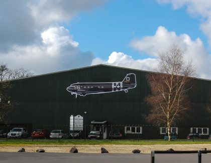 Walker Logistics restores WW2 aircraft in Berkshire, UK
