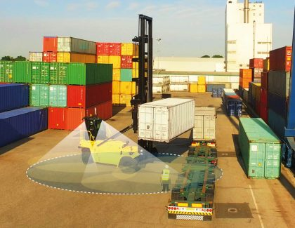 Lift truck visibility and detection for Smart Ports