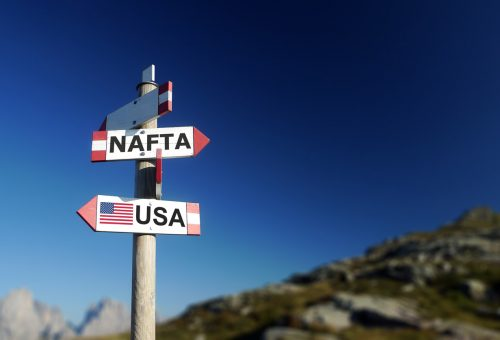 "Nafta to be renegotiated amid assertion by President Trump that it has ""failed many Americans"""
