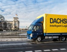 Dachser delivers with electric trucks