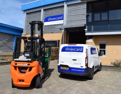 Doosan reliability keeps the presses rolling at Showcard Print