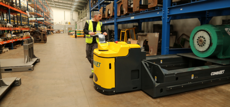 Combilift launches the Combi-PPT: a high capacity powered pallet truck
