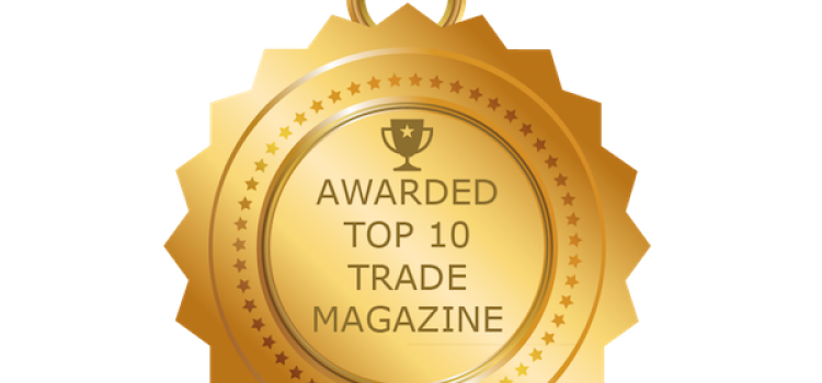 International Trade Magazine named 'Top 10 Trade Magazine' by Feedspot