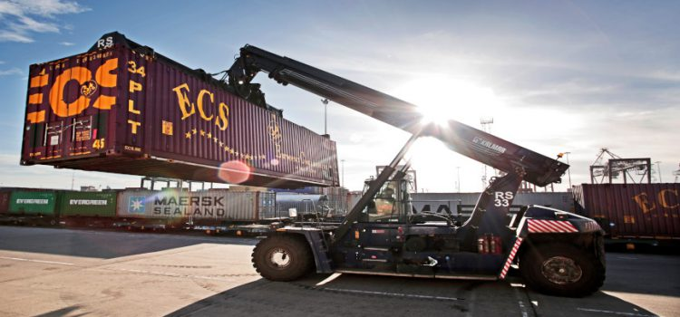 Teesport Intermodal Rail Terminal celebrates fourth anniversary