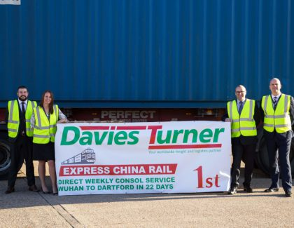Davies Turner restructures Express China Rail Service operation, improves reliability and reduces costs