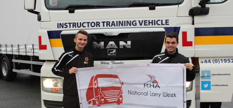 RTITB drives National Lorry Week at a local secondary school