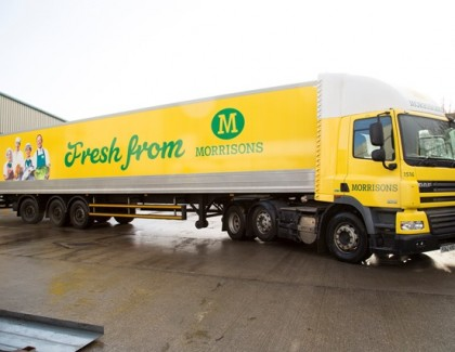 Morrisons chooses Microlise to deliver greater driver engagement