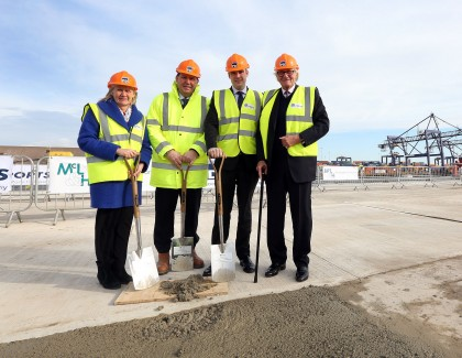 £35 million investment sees major development milestone reached at Teesport