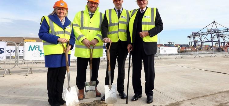 £35 million investment sees major development milestone reached at Teesport