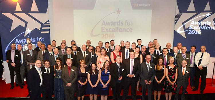 Recognising Excellence: Outstanding colleague achievements awarded by DB Schenker Rail UK