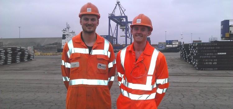 PD Ports talk apprenticeships