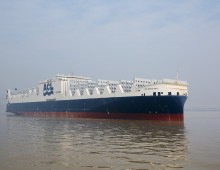 Atlantic Sail, ACL's second of five new G4 vessels, is delivered