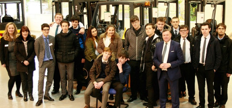 Jungheinrich holds Student Insight Day on Intralogistics