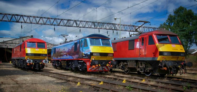 Scottish Highland travels the country on DB Cargo locomotive