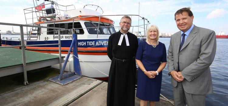 PD Ports christen new vessel High Tide Adventure