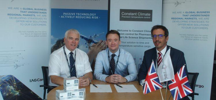 IAG Cargo signs global rental agreement with Va-Q-tec