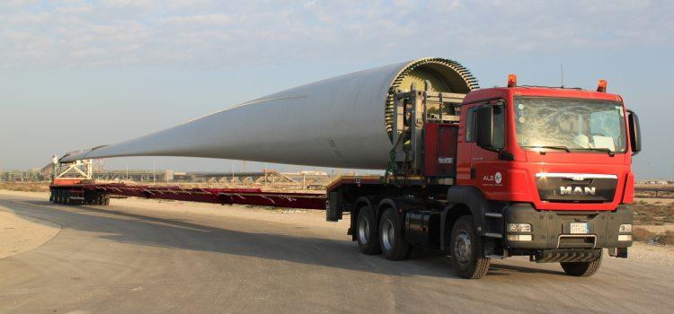 ALE report successful installation of Saudi Arabia's first ever wind turbine