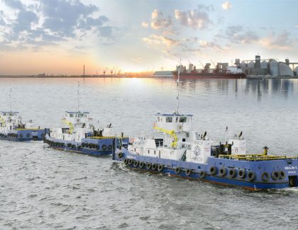 ACO deliver Clarimar treatment units for installation on new high-specification Nibulon tugs