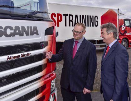 Yodel names bespoke vehicle Athena as part of SP Training fleet