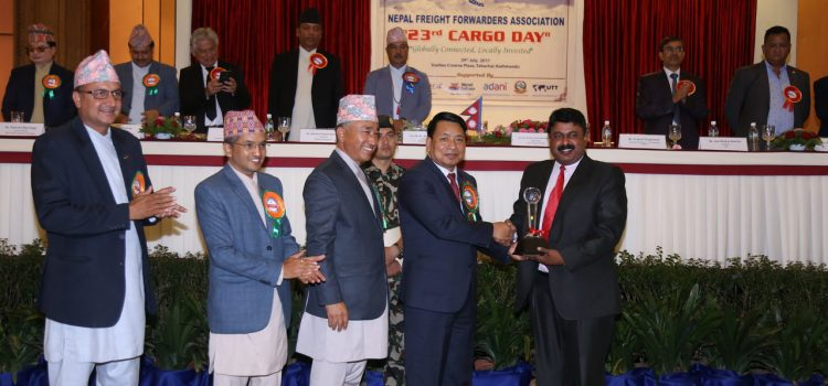 Qatar Airways Cargo awarded highest export tonnage out of Nepal