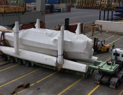 FJT LOGISTICS ships Ocean Cruising Trimaran from Vietnam to New Zealand
