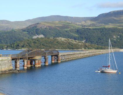 Barmouth Bridge celebrates 150th anniversary with special train service