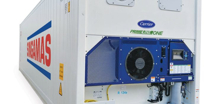 Carrier Transicold and Singamas Introduce PrimeLINE ONE™ Refrigerated Container