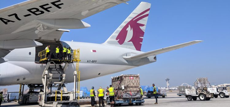 Qatar Airways Cargo rolled out the red carpet for eight-year old Eric's epic journey