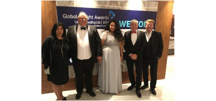CML shortlisted as a finalist at this year's Global Freight Awards