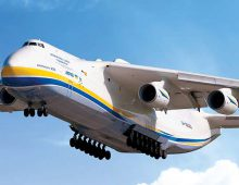 Antonov Airlines transports mining equipment to Gabon for Bolloré Logistics