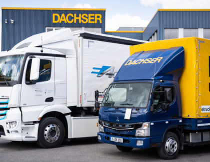 Dachser launches test operations with Mercedes-Benz eActros