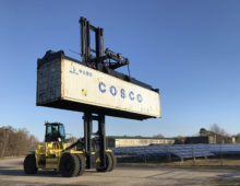 Hyster electric container handlers progress