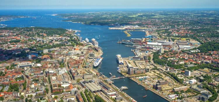 Port of Kiel on joint stand at transport logistic