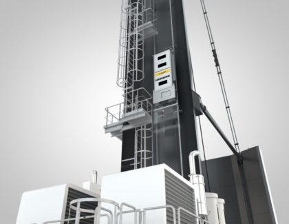 LiUP crane driver elevator for mobile harbour cranes
