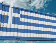 Greek logsitics in the National Greek Pavilion at transport logistic 2019