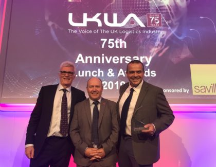 PALLITE PIX wins the innovation award at the UKWA 2019 Awards