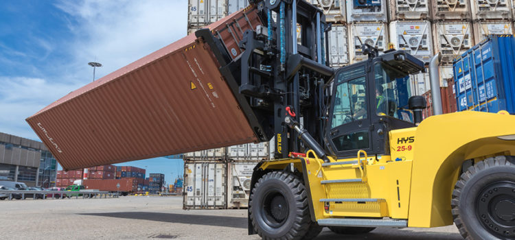 Hyster optimises container repair yard handling